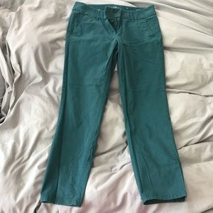 LOFT cropped ankle pants